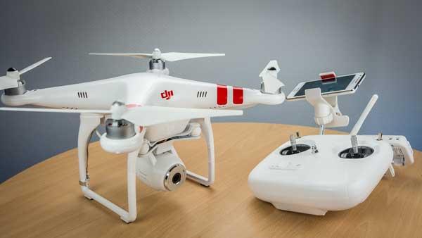 Квадрокоптер и пульт управления