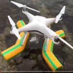 Самодельное приспособление для посадки дрона dji phantom 4 на воду