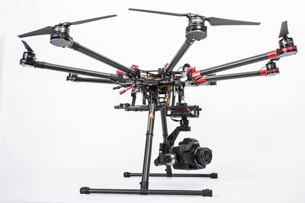 Октокоптер DJI S1000 Spreading Wings  с камерой