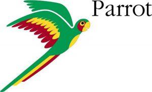 Логотип компании Parrot