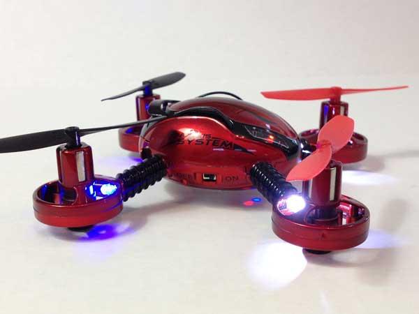 Внешний вид квадрокоптера JXD 392