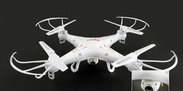 Внешний вид квадрокоптера Syma X5C