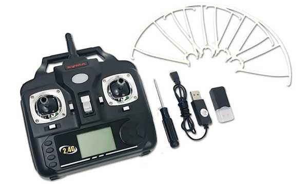 Комплект квадрокоптера Syma S5XW