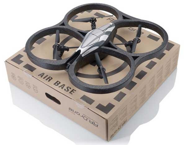 Квадрокоптер AR.Drone и коробка
