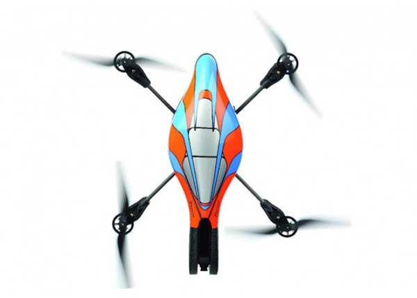 Квадрокоптер AR.Drone без защитных элементов