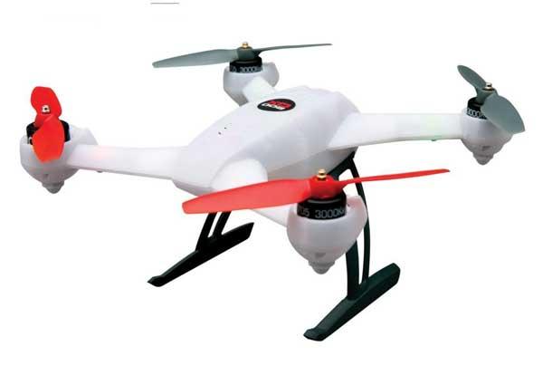 Квадрокоптер Blade 200 QX FPV: вид сбоку