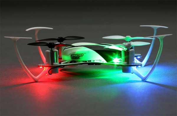 Подсветка квадрокоптера Blade Pico QX