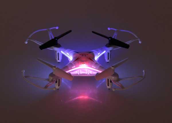Подсветка квадрокоптера Syma X13