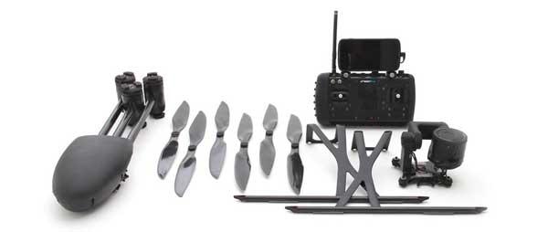 Комплект гексакоптера Draganflyer X6