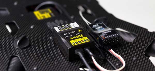 Электронная начинка квадрокоптера Align M690