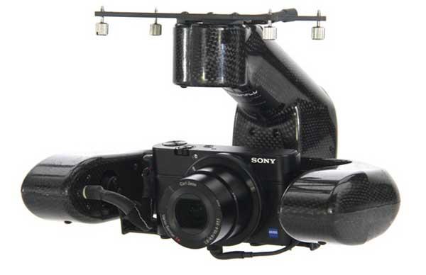 Камера квадрокоптера Draganflyer X4