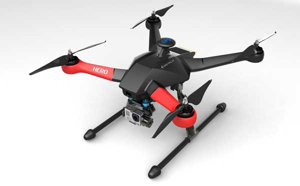 Квадрокоптер IdeaFly HERO 550