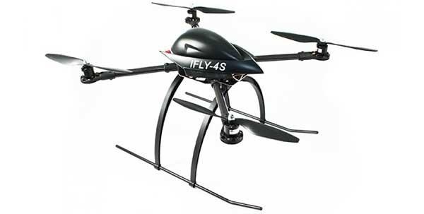 Квадрокоптер IdeaFly IFLY-4S
