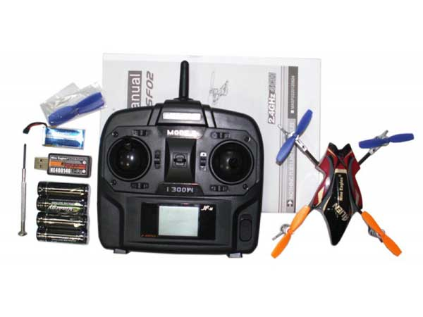 Комплект квадрокоптера Nine Eagles Alien Drone