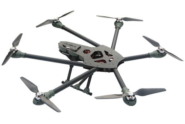 Внешний вид гексакоптера Sky Hero Spyder6