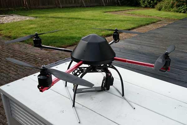 Квадрокоптер MikroKopter Quadro XL готов к полету