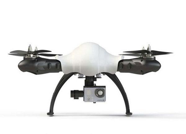 Квадрокоптер Sky Hero Little Spyder: вид сбоку