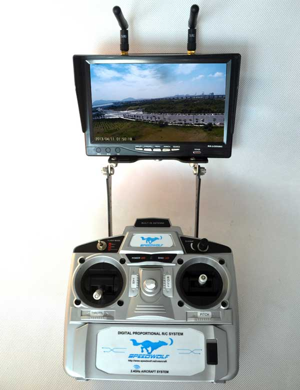 Пульт квадрокоптера SpeedWolf VAJRA80-FPV