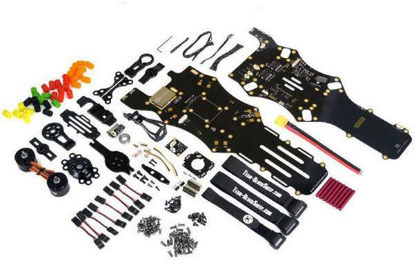 Квадрокоптер TBS Discovery: комплект поставки