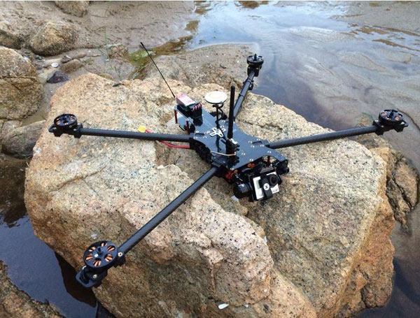 Квадрокоптер TBS Discovery: серия Endurance