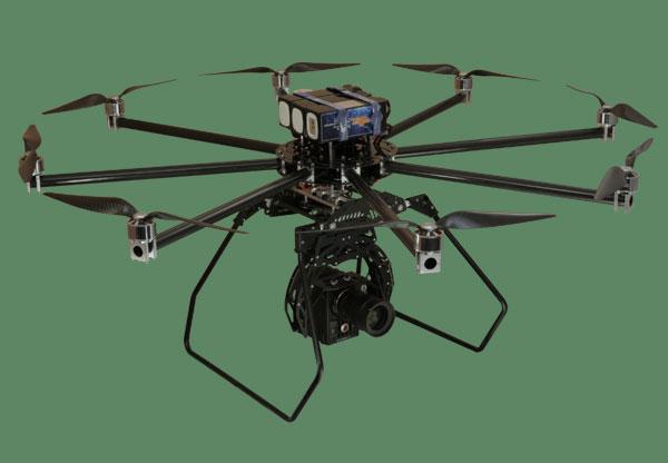 Октокоптер Turbo Ace Cinewing 8E: внешний вид