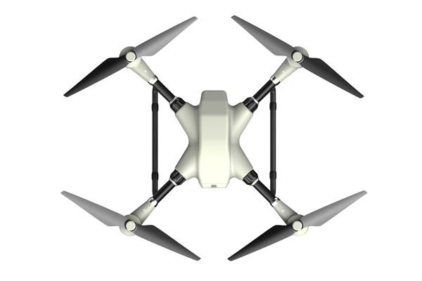 Квадрокоптер Xaircraft XMission: вид сверху