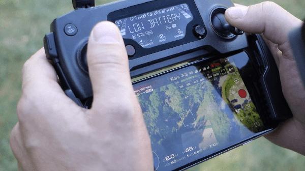 Пульт управления квадрокоптером DJI Mavic Pro