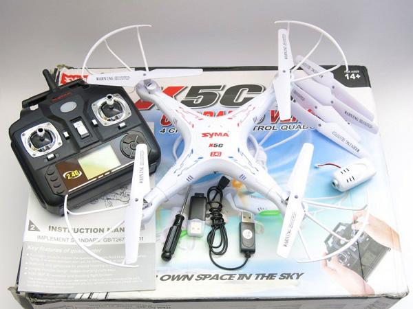 Квадрокоптер Syma X5C-1
