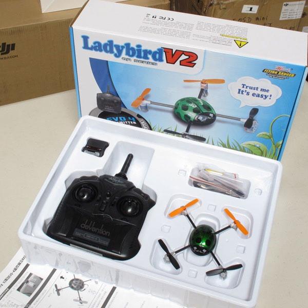 Квадрокоптер Walkera Dragonfly QR Ladybird V2 в коробке