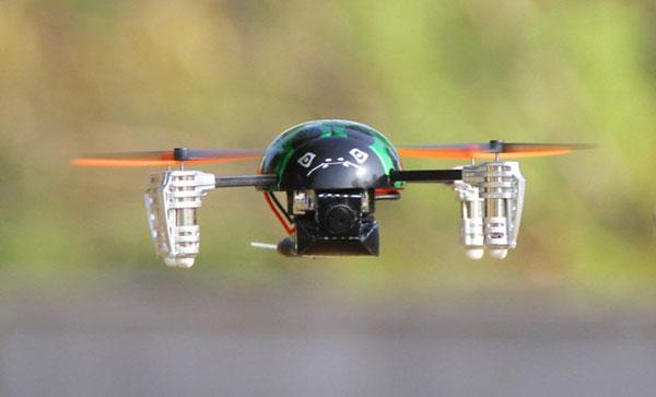 Квадрокоптер Walkera Dragonfly QR Ladybird V2 в полете