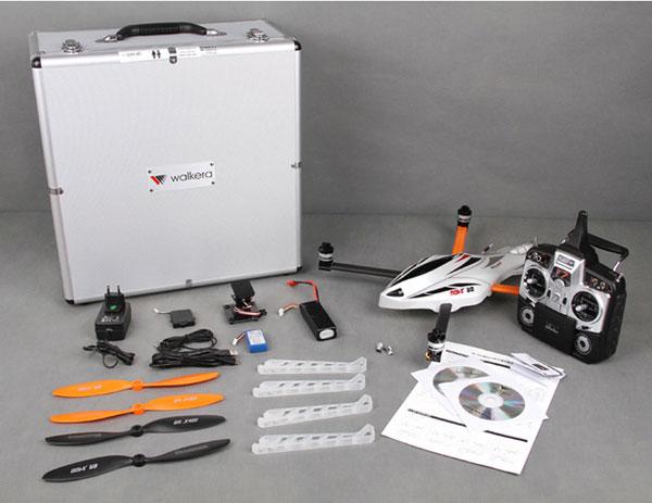 Квадрокоптер Walkera QR X400: комплект поставки