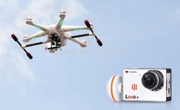 Гексакоптер Walkera Tali H500 и его камера