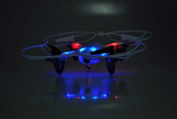 Подсветка квадрокоптера Syma X11 Hornet