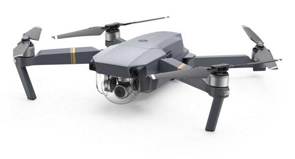 Квадрокоптер DJI Mavic Pro 4К